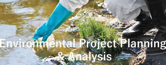 Environmental Project Planning & Analysis